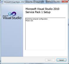 visual studio 2010 sp1