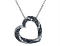 Foto Black & White Diamond Heart de